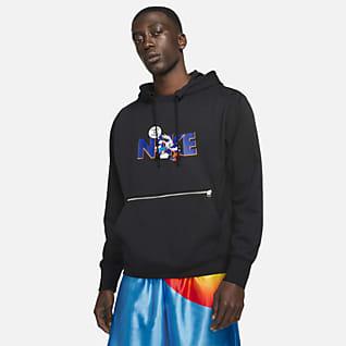 Nike Dri-FIT Standard Issue x Space Jam: A New Legacy Felpa pullover da basket in fleece con cappuccio - Uomo
