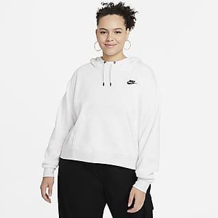 Nike Sportswear Essentials Women's Oversized Fleece Hoodie (Plus Size)
