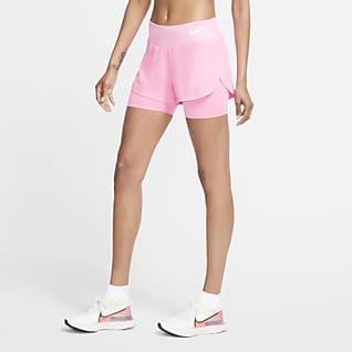 Nike Eclipse Pantalons curts 2 en 1 de running - Dona