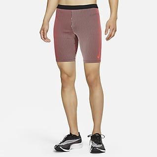 Nike AeroSwift 男款跑步五分緊身褲