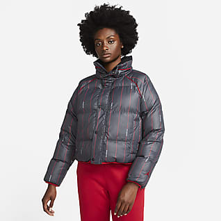 Jordan Flight Puffer-Jacke für Damen