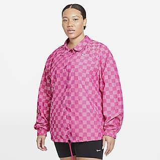 Nike Sportswear Icon Clash Women's Coaches' Jacket (Plus Size)
