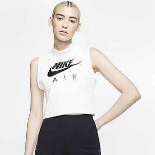 Nike Air Damen-Tanktop mit Stehkragen
