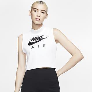 Nike Air Canotta con collo a lupetto - Donna