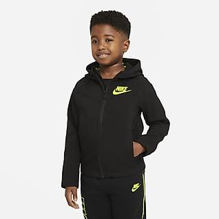 Nike Chamarra de cierre completo para niños talla pequeña