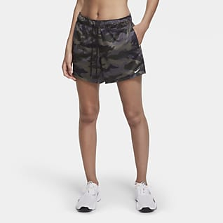 Nike Dri-FIT Camo-Shorts für Damen