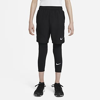 Nike Pro Big Kids' (Boys') 3/4-Length Tights