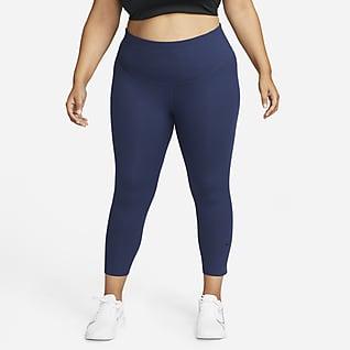 Nike One Luxe Women's Mid-Rise Crop Leggings (Plus Size)