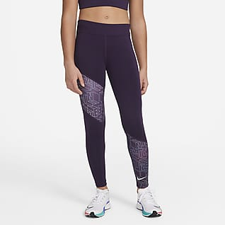 Nike Trophy Big Kids' (Girls') Printed Training Leggings