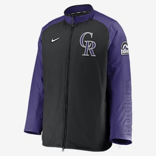 Nike Dugout (MLB Colorado Rockies) Men's Full-Zip Jacket