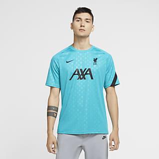 Liverpool FC Men's Pre-Match Short-Sleeve Soccer Top