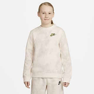 Nike Sportswear Magic Club Crew με εφέ tie-dye για μεγάλα αγόρια