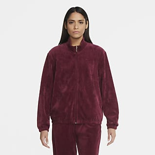 Nike Sportswear Track jacket in velour - Donna