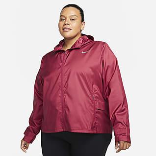 Nike Essential Dámská běžecká bunda (větší velikost)