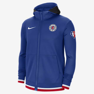 LA Clippers Nike Showtime Men's Nike Dri-FIT NBA Full-Zip Hoodie