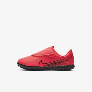 Nike Jr. Mercurial Vapor 13 Club TF Sapatilhas de futebol para relva artificial para bebé/criança