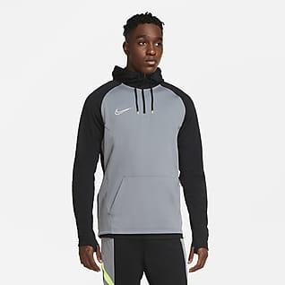 Nike Dri-FIT Academy Top de entrenamiento de fútbol con cierre 1/4 y capucha para hombre