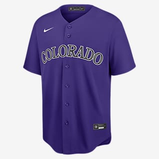 MLB Colorado Rockies (Charlie Blackmon) Men's Replica Baseball Jersey