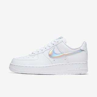 nike air force holographic Weiß