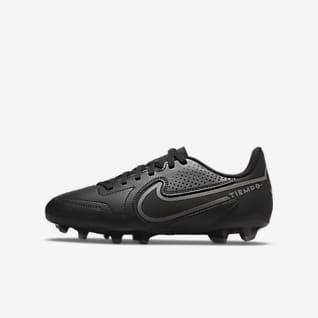 Nike Jr. Tiempo Legend 9 Club MG Calzado de fútbol para múltiples superficies para niños talla pequeña/grande