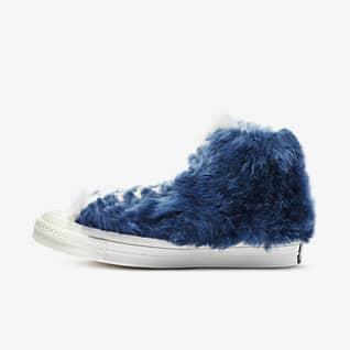 Converse x AMBUSH® Chuck 70 Fuzzy High Top Shoe