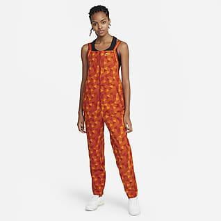 Serena Design Crew Tennis-Jumpsuit mit Print für Damen