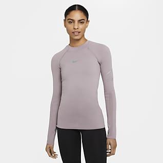 Nike Run Division Sıkı Kesimli Özel Olarak Geliştirilen Örgü Kadın Koşu Üstü