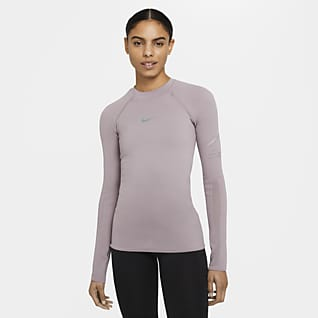 Nike Run Division Women's Tight-Fit Engineered Knit Running Top