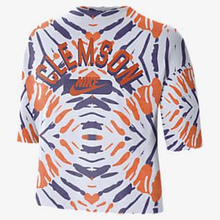 Nike College (Clemson) Women's Boxy Printed T-Shirt