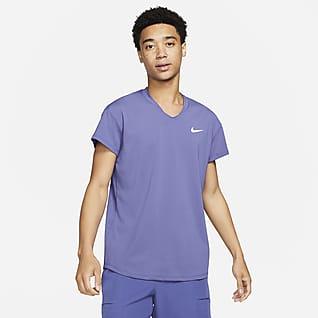 NikeCourt Breathe Slam Ανδρική μπλούζα τένις