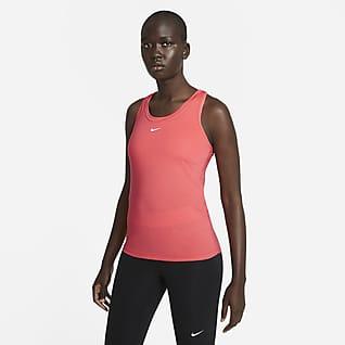Nike Dri-FIT One Camisola sem mangas de corte estreito para mulher