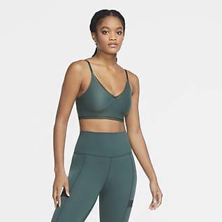 Nike Indy Luxe Bra deportivo con almohadillas de sujeción ligera para mujer