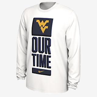 Nike College Dri-FIT (West Virginia) Men's Long-Sleeve T-Shirt