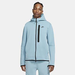 Nike Sportswear Tech Fleece Sudadera con capucha de cierre completo para hombre lavada