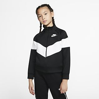 Filles Vestes aviateur. Nike FR
