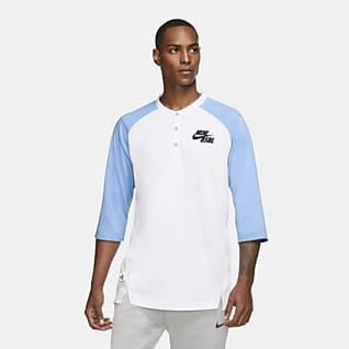 Nike Dri-FIT Flux Camiseta de béisbol de manga 3/4 para hombre