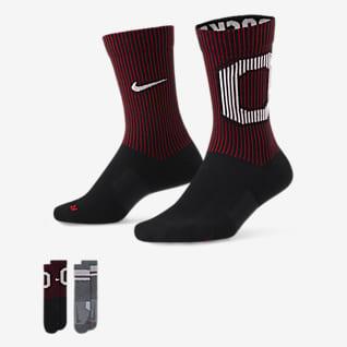 Nike College Multiplier (Ohio State) Calcetines largos (2 pares)