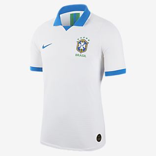 2018 Brazil CBF Stadium Away Men's Football Shirt. Nike GB