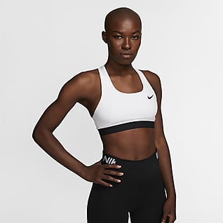 Nike Dri-FIT Swoosh Women's Medium-Support Non-Padded Sports Bra