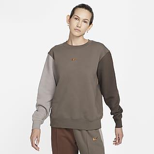 Nike Sportswear Swoosh Dámská mikina s kulatým výstřihem