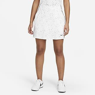 Nike Dri-FIT UV Damen-Golfrock mit Print