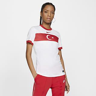 Turkije 2020 Stadium Thuis Voetbalshirt voor dames