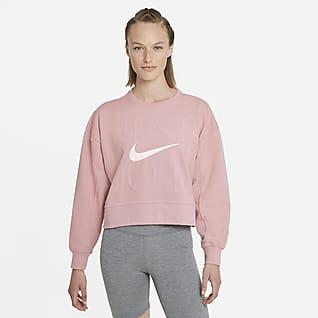 Nike Dri-FIT Get Fit Kadın Antrenman Crew Üst