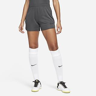 Nike Dri-FIT Academy Pantalons curts de teixit Knit de futbol - Dona