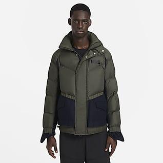 Nike x sacai เสื้อพาร์ก้าผู้ชาย