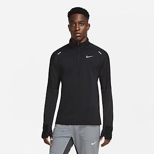 Nike Sphere Yarım Fermuarlı Erkek Koşu Üstü