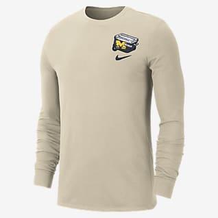 Nike College (Michigan) Men's Long-Sleeve T-Shirt