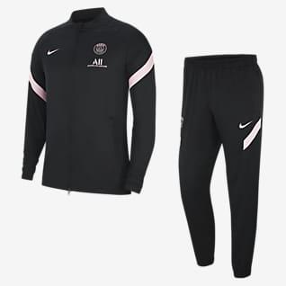 Paris Saint-Germain Strike (bortaställ) Fotbollstracksuit Nike Dri-FIT för män