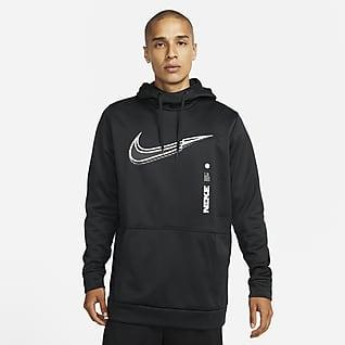 Nike Therma-FIT Sudadera con gorro de entrenamiento sin cierre para hombre