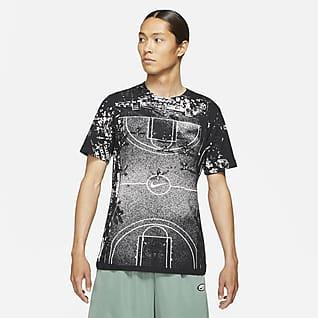 """Nike """"NY vs. NY"""" เสื้อยืดบาสเก็ตบอลผู้ชาย"""
